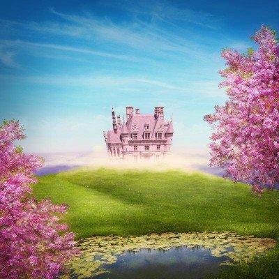 Фототапет Приказен замък