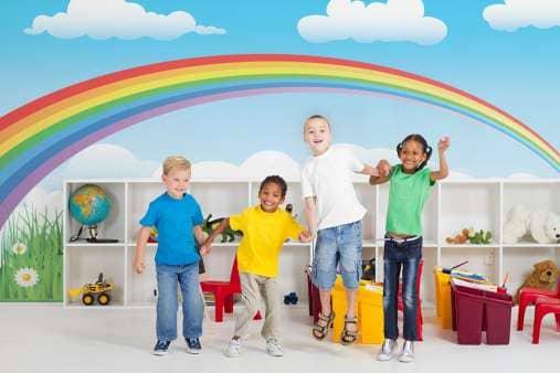 Фототапет за детски център