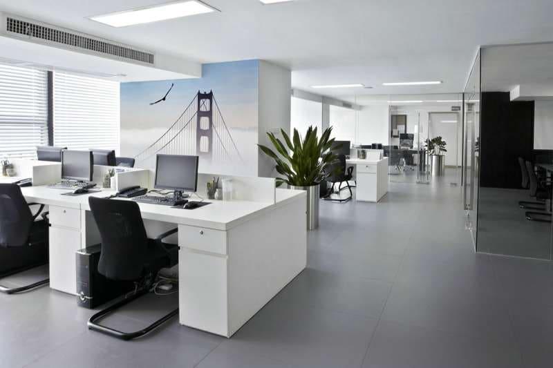 Фототапет на работното място в офиса